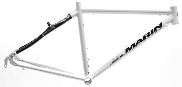 "13.5"" MARIN MILL VALLEY Hybrid City Bike Frame Alloy/Carbon White 700c NOS NEW"