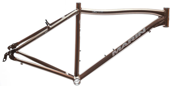 "MARIN SAUSALITO 19"" Hybrid Commuter Bike Frame Alloy Bronze Gloss 700c NOS NEW"