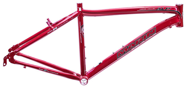 "15"" MARIN LUCAS VALLEY ALP Road Sport Bike Frame Alloy Red Brick 700c E4 NOS NEW"