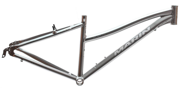 "17"" MARIN SAUSALITO Women's Hybrid City 700c Bike Frame Grey Aluminum NOS NEW"