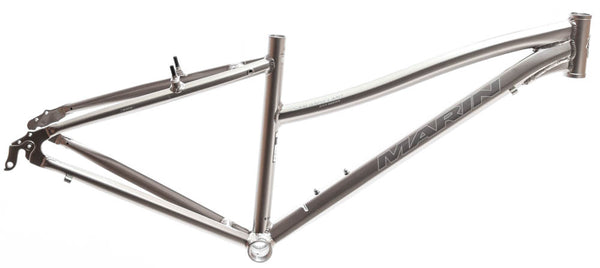 "MARIN SAN ANSELMO 15"" Women's Hybrid City 700c Bike Frame Silver Alloy NOS NEW"