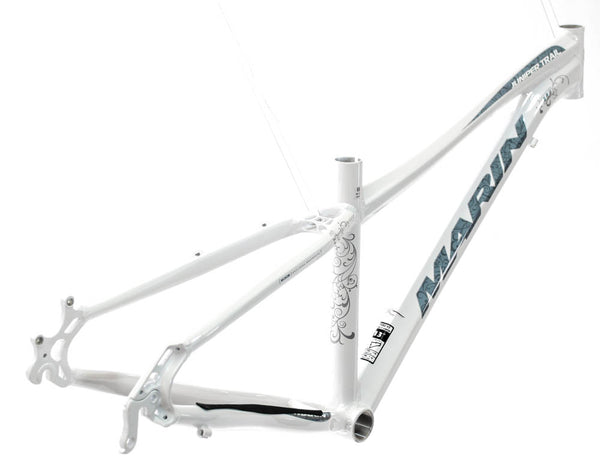 "17"" MARIN JUNIPER TRAIL Women's 26"" Hard Tail Bike Frame Alloy White NOS NEW"