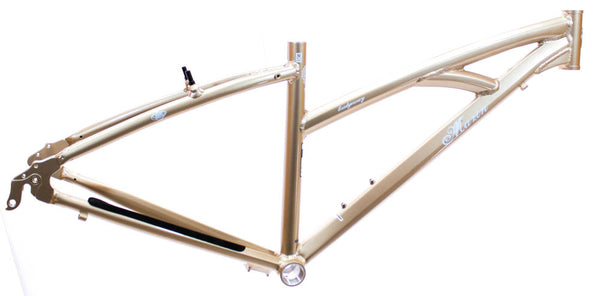 "15"" MARIN SAN BRIDGEWAY Women's Hybrid City 700c Bike Frame Gold Alloy NOS NEW"
