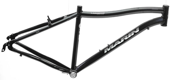 "19"" MARIN LAGUNITAS 29"" 700c Hybrid Commuter Bike Frame Alloy Black NOS NEW"