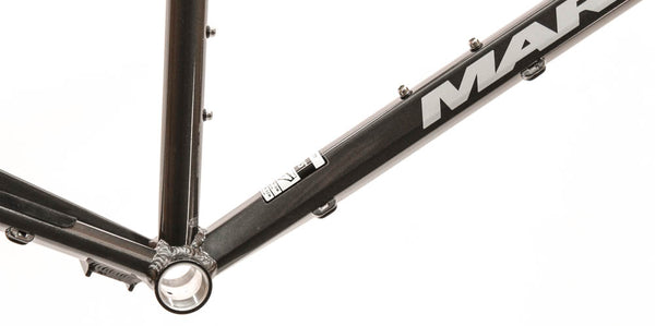 "17"" MARIN BRIDGEWAY 700C Urban Commute Bike Frame Alloy Grey Single Internal NEW"