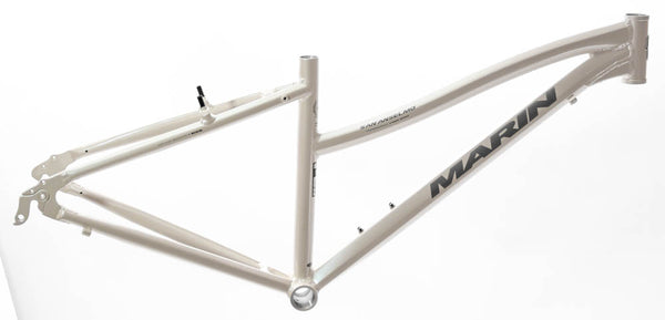 "15"" MARIN SAN ANSELMO Women's Hybrid City 700c Bike Frame White Alloy NOS NEW"