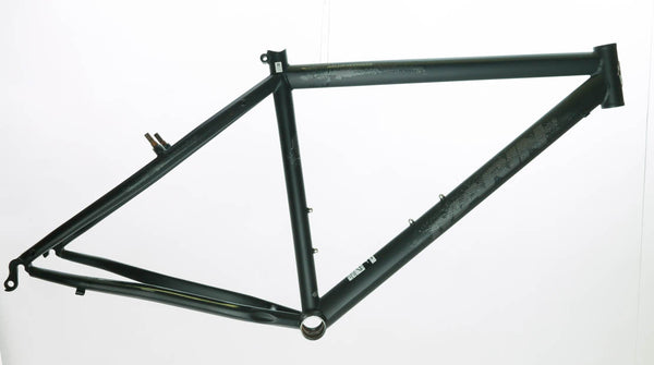 "17"" Marin Muirwoods 26"" Urban City Street Bike Frame Chromoly Steel Black NEW"