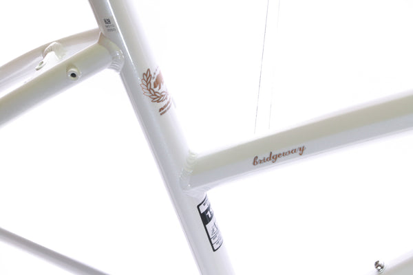 "15"" MARIN SAN BRIDGEWAY Women's Hybrid City 700c Bike Frame White Alloy NOS NEW"