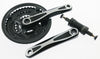 Aluminum 7/8 Speed MTB Bike Square Taper Crankset + BB 170mm 42/34/24T NEW
