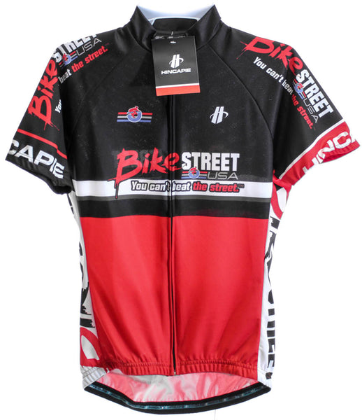 HINCAPIE AXIS Women's Cycling Jersey Sm Short Sleeve Red/Black BIKE STREET NEW