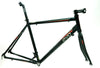 EVO Vantage 7.0 50cm Small Aluminum Road Bike Frameset Fork + Extras Black NEW