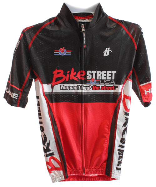 HINCAPIE VELOCITY MAX Men's Cycling Jersey Short Sleeve Med Red/Black Bike NEW