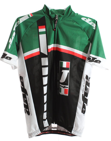 HINCAPIE AXIS daJe Men's Cycling Jersey Short Sleeve Small Green / Black NEW