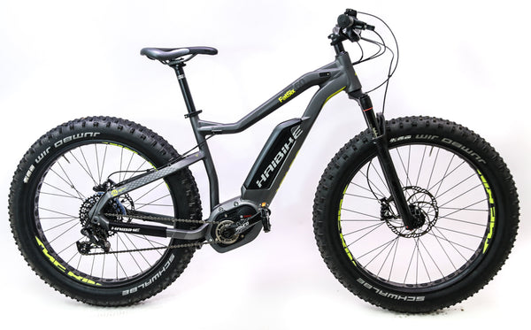 "Haibike FatSix 45cm / 18"" Fat Bike 26"" Electric E-Bike SRAM NX 11s DEMO"
