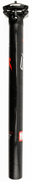 FSA SL-K SB0 Bike Seatpost 31.6mm X 350mm Carbon Black Red K SP-RK-265-MTC NEW