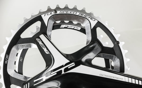 FSA Gossamer BB386 EVO ABS Cyclocross Bike Crankset 46/36T 170mm N10/11s NEW