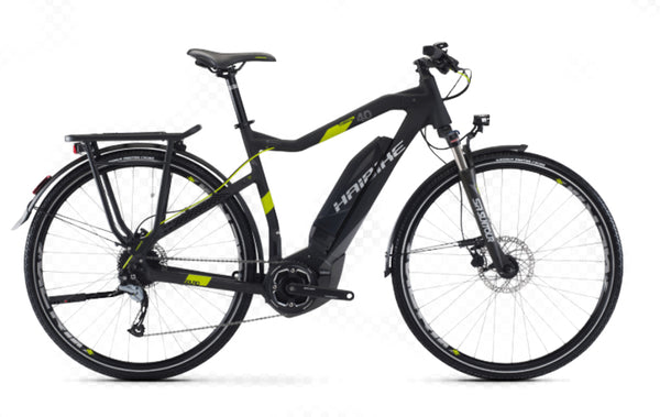"2017 Haibike SDURO 64cm 25"" Trekking 4.0 Electric City Urban Electric E-Bike NEW"