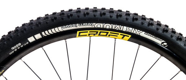 "1 QTY Bontrager XR Mud Team Issue 650b / 27.5 x 2.00"" Tubeless Ready Bike Tire"