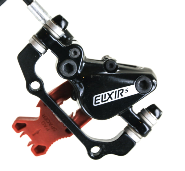 SRAM / Avid Elixir 5 Hydraulic MTB Bike Disc Brake + 180mm Rotor 750mm NEW