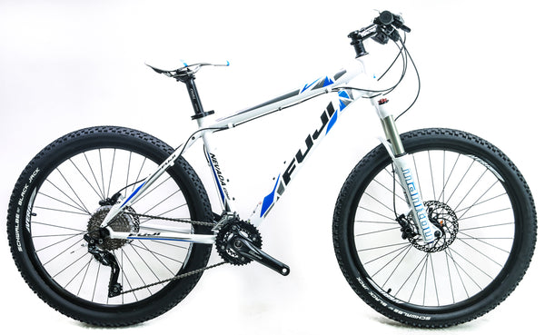 "Fuji Nevada Comp 1.1 17"" 26"" Hardtail Aluminum MTB Bike Shimano 10s NEW 2015"