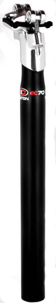 EASTON EC70 MTB Road Bike Seatpost 31.6mm x 350mm Carbon Fiber Black NEW