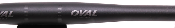OVAL CONCEPTS MTB Bike Riser Handlebar 31.8 x 620mm Aluminum Alloy Black New