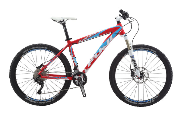 "Fuji Tahoe 1.3 19"" Hardtail 26"" Mountain Bike Shimano 2 x 10s New 2014"