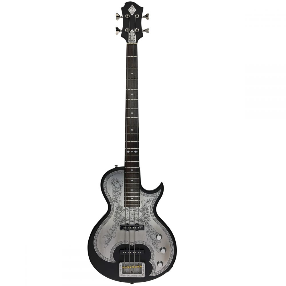 Zemaitis C22MF Bass Black