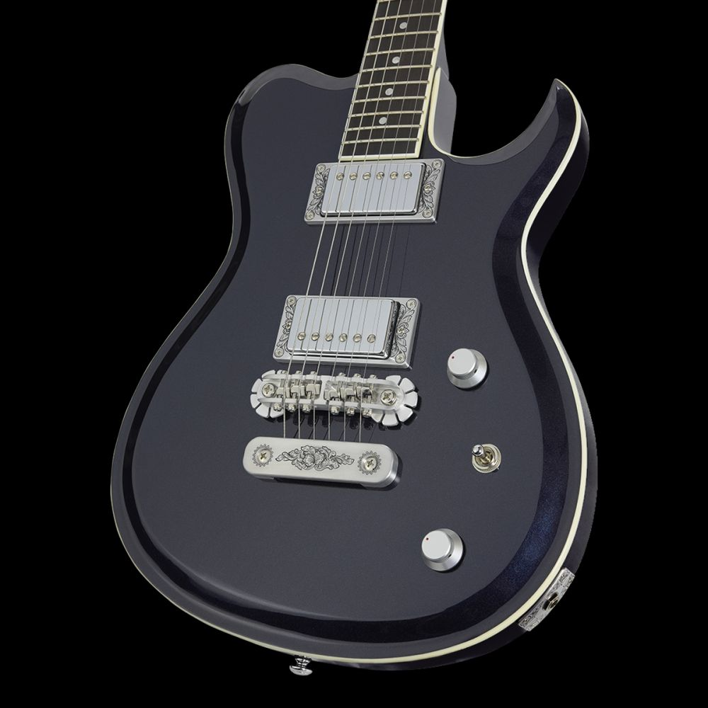 Zemaitis SCW22 Dark Metallic Blue