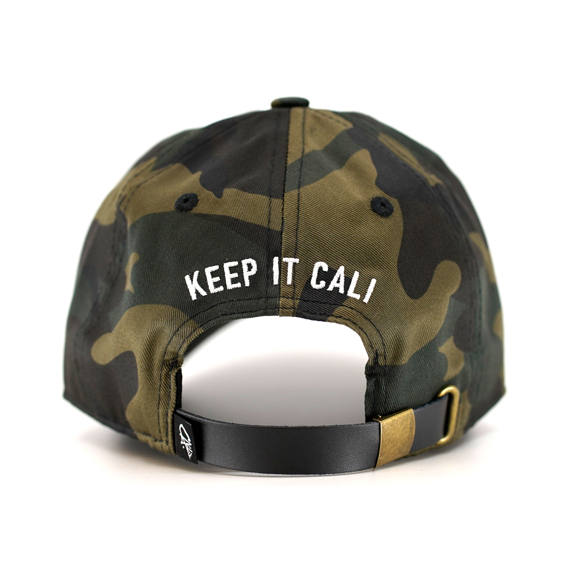 CA. Dad Hat by Calibis Clothing