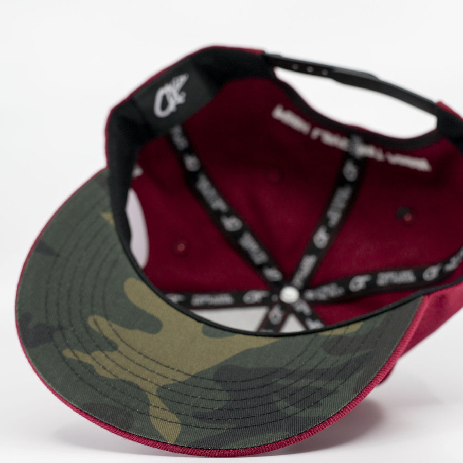 Logo Camo Snapback by Calibis Clothing