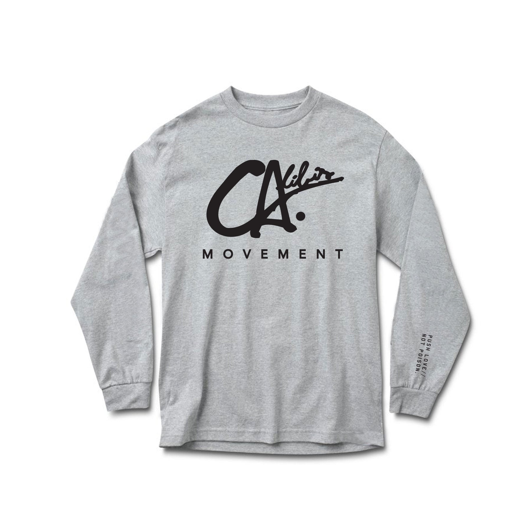Logo Long Sleeve Tee by Calibis Clothing