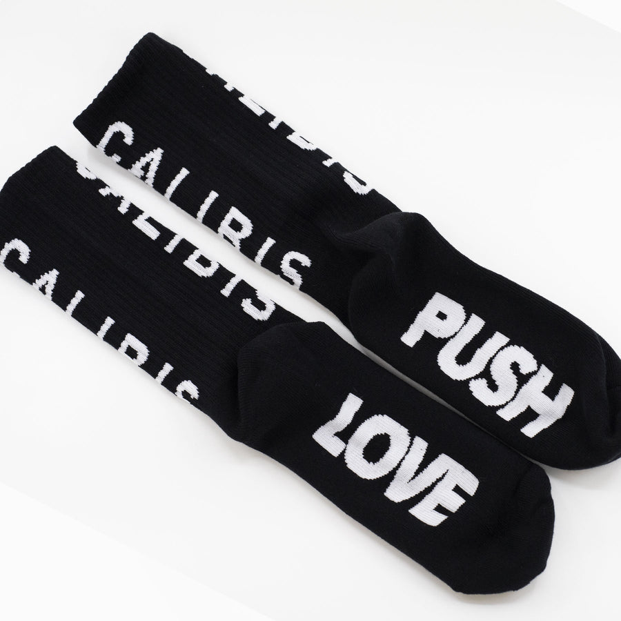 Concrete Logo Socks by Calibis Clothing