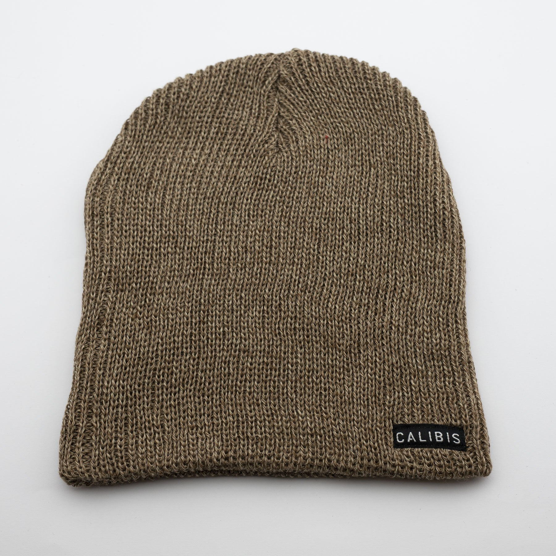 Gold Slouchy Beanie by Calibis Clothing