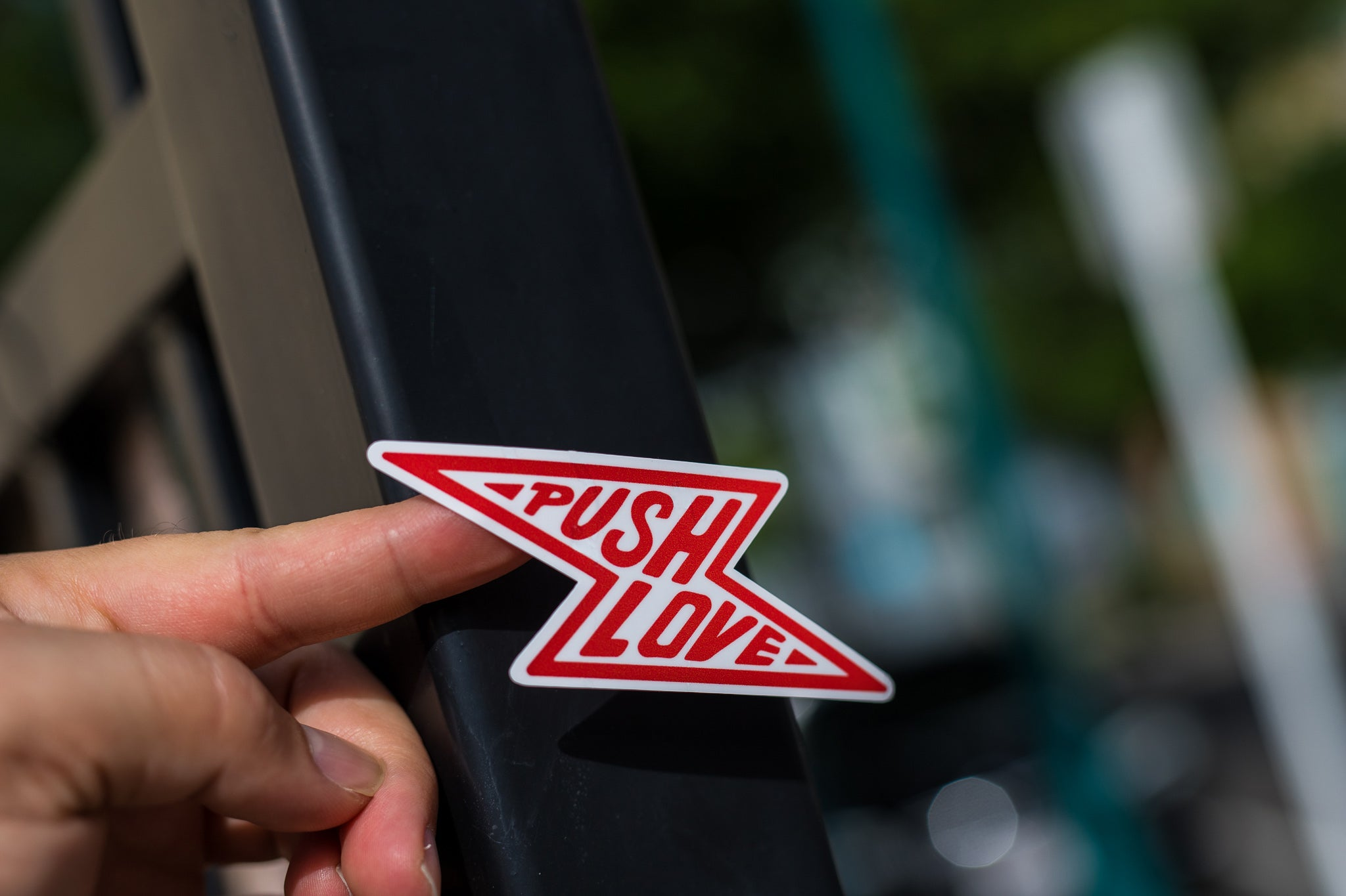Push Love Bolt Sticker pack