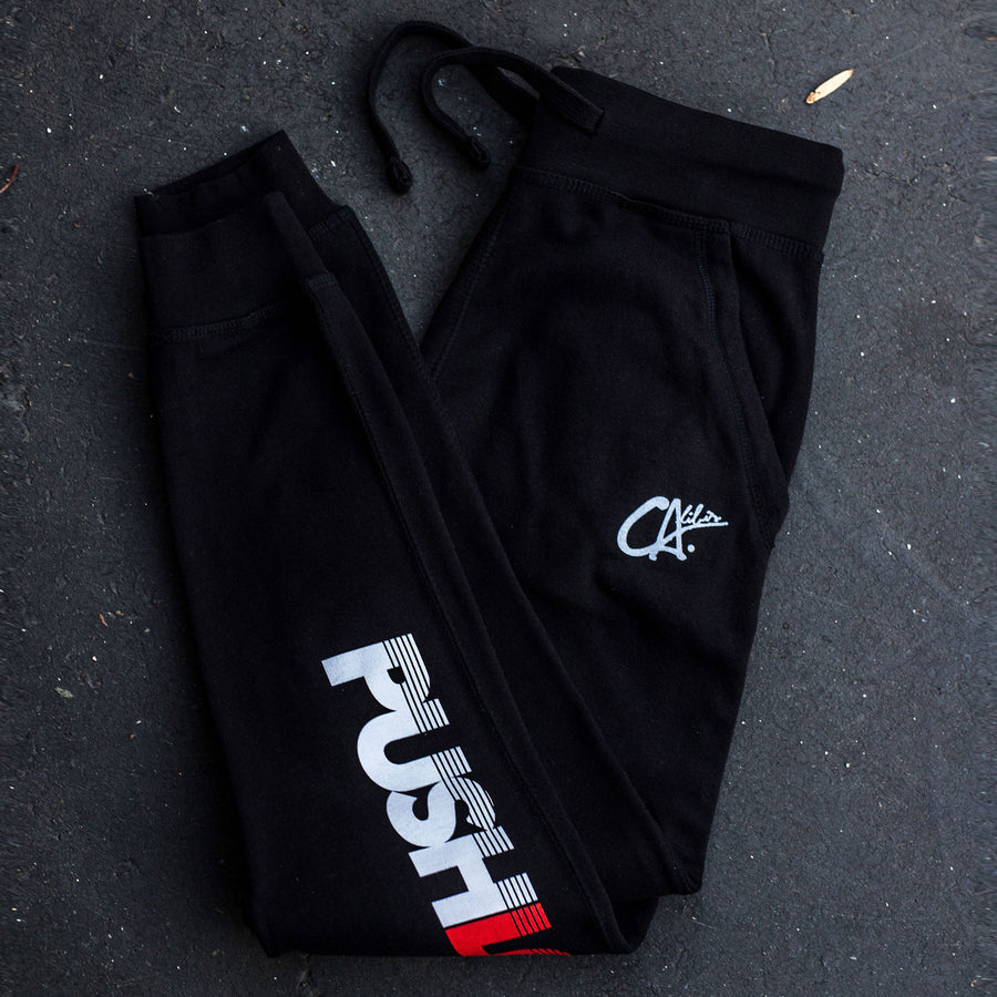 Pushin' Love Joggers by Calibis Clothing