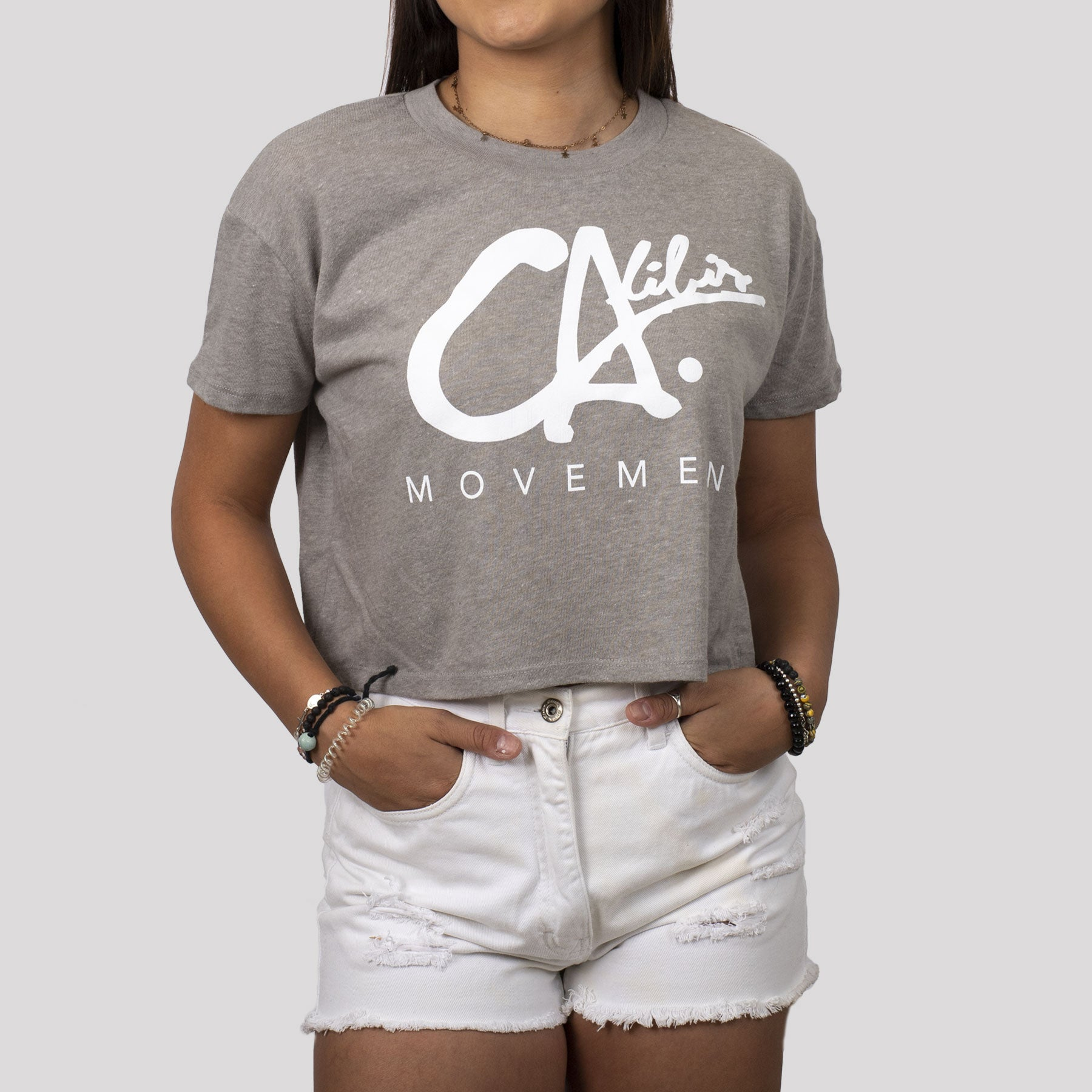 Logo Crop Tee by Calibis Clothing