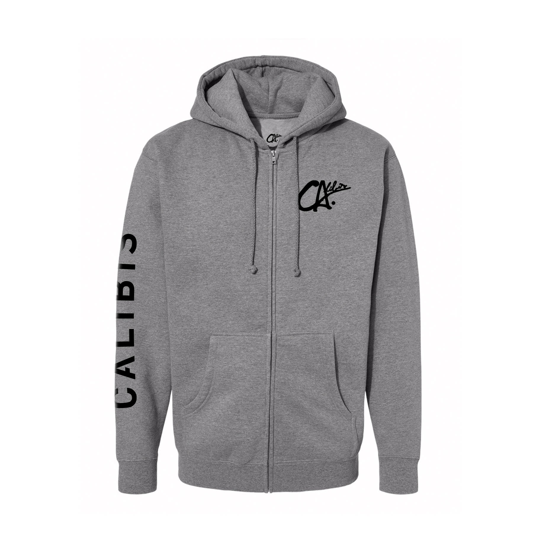 Logo Zip Hoodie by Calibis Clothing