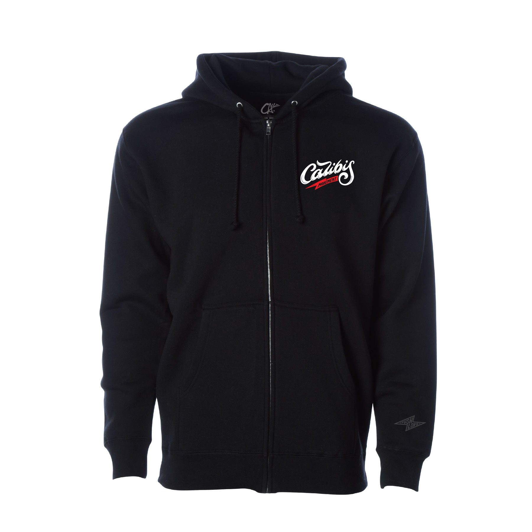 The Movement Zip Hoodie by Calibis Clothing