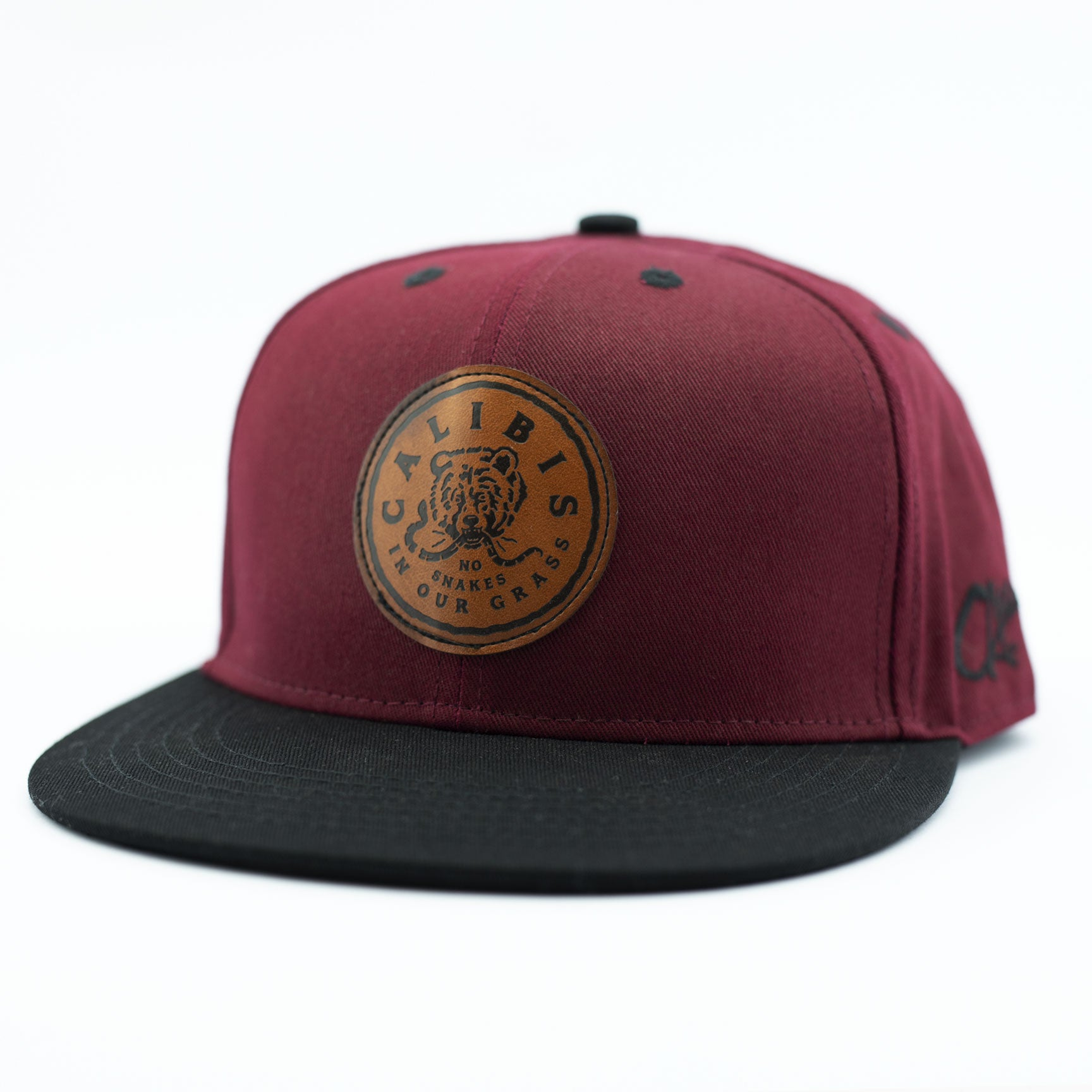 No Snakes Snapback by Calibis Clothing