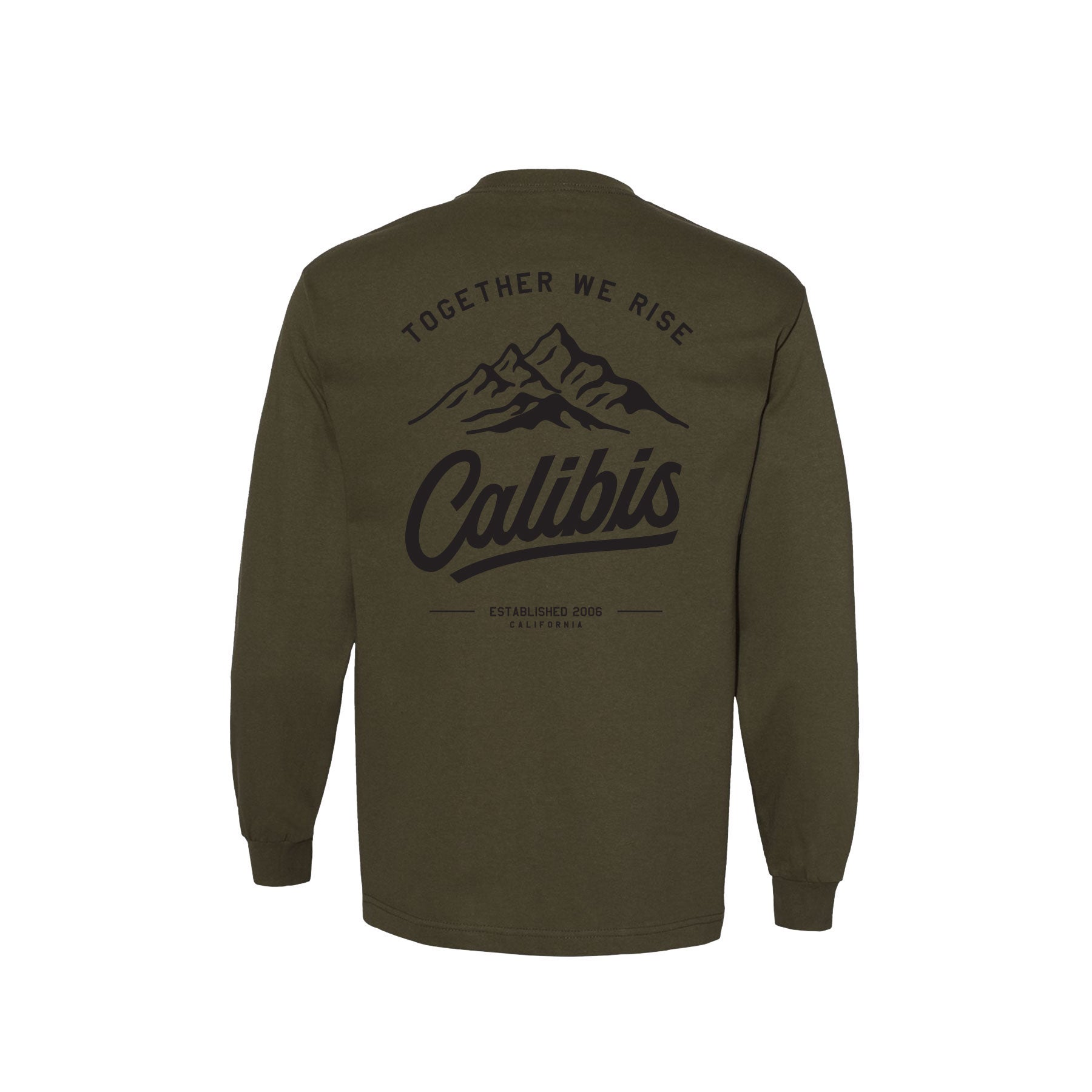 Together We Rise Long Sleeve by Calibis Clothing