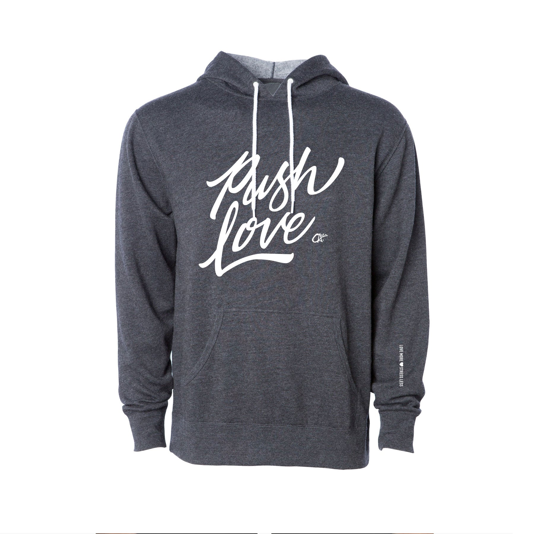 Push Love Hoodie by Calibis Clothing