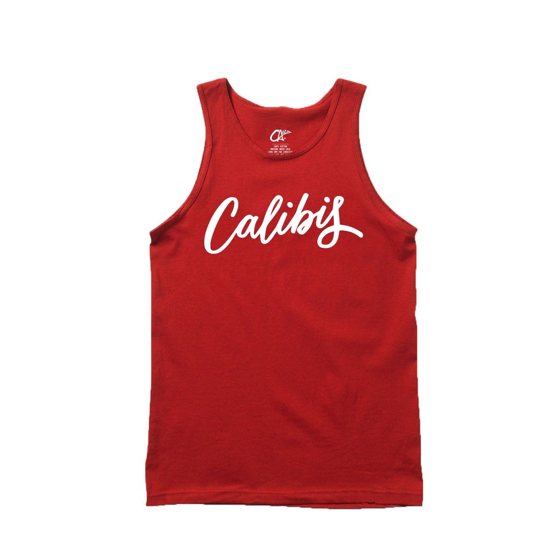 Scribble Tank Top by Calibis Clothing