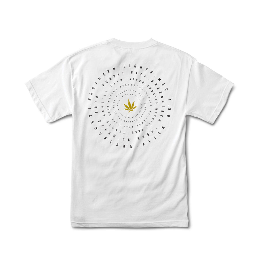 Strains Tee by Calibis Clothing