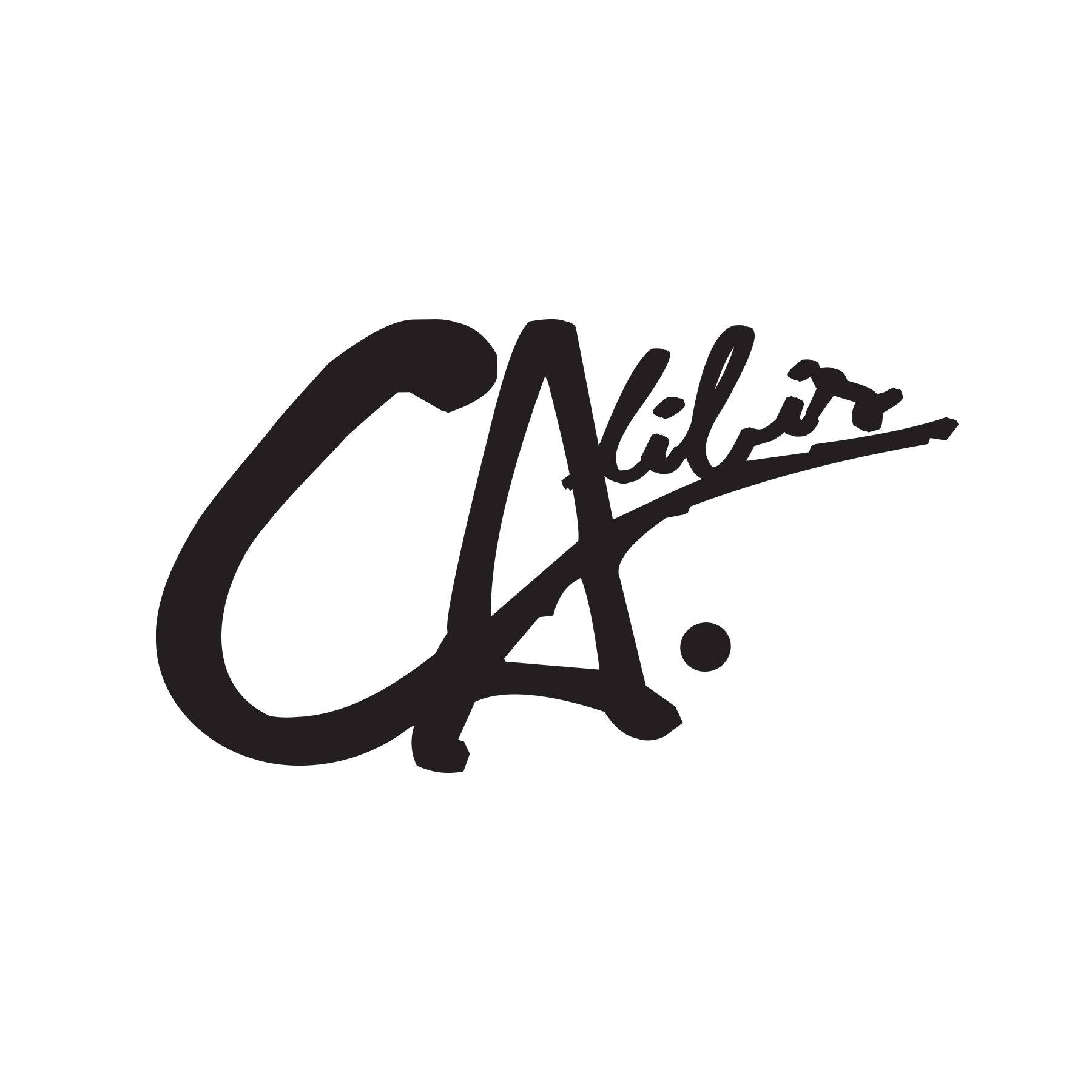 Calibis Black Decal by Calibis Clothing