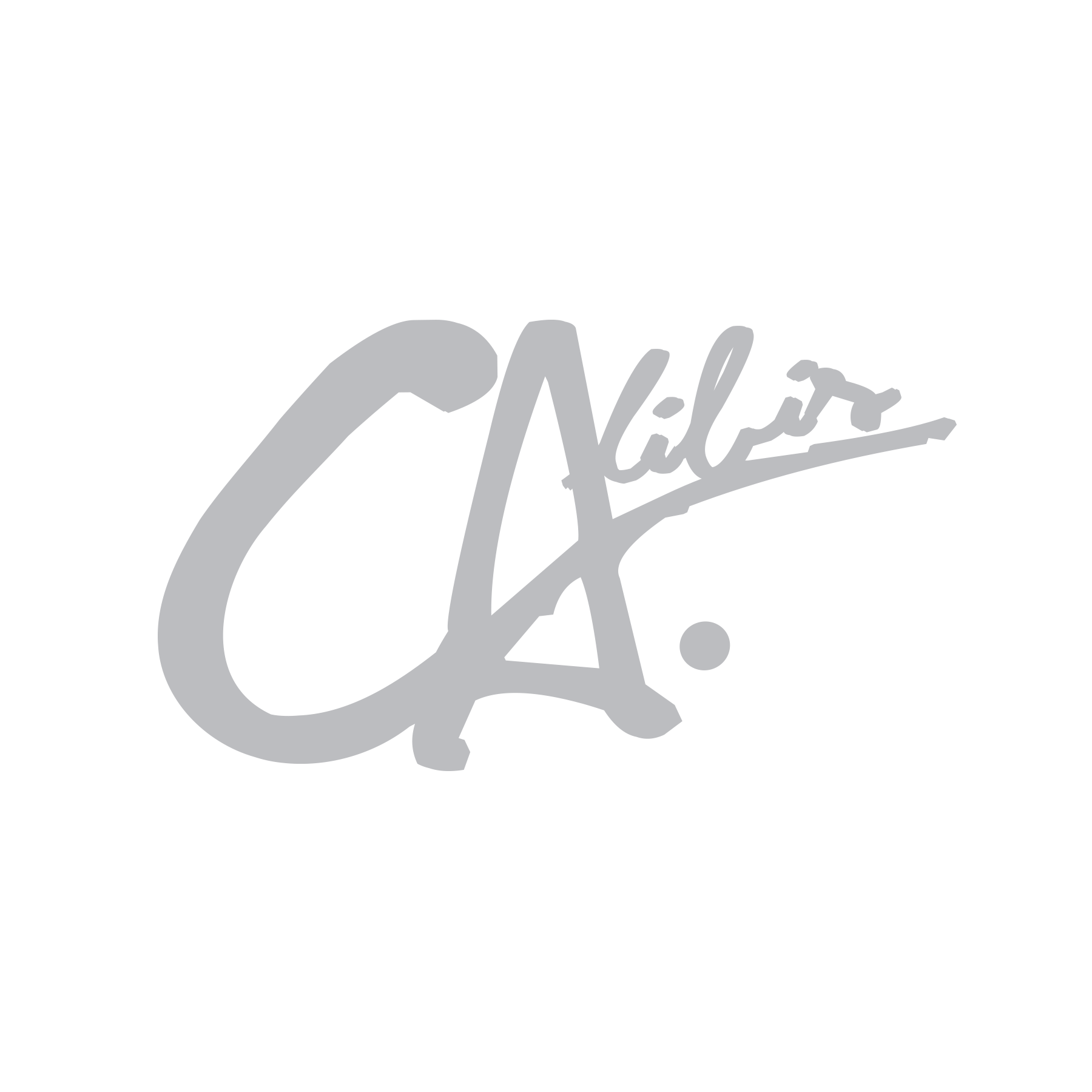 Silver Decal by Calibis Clothing