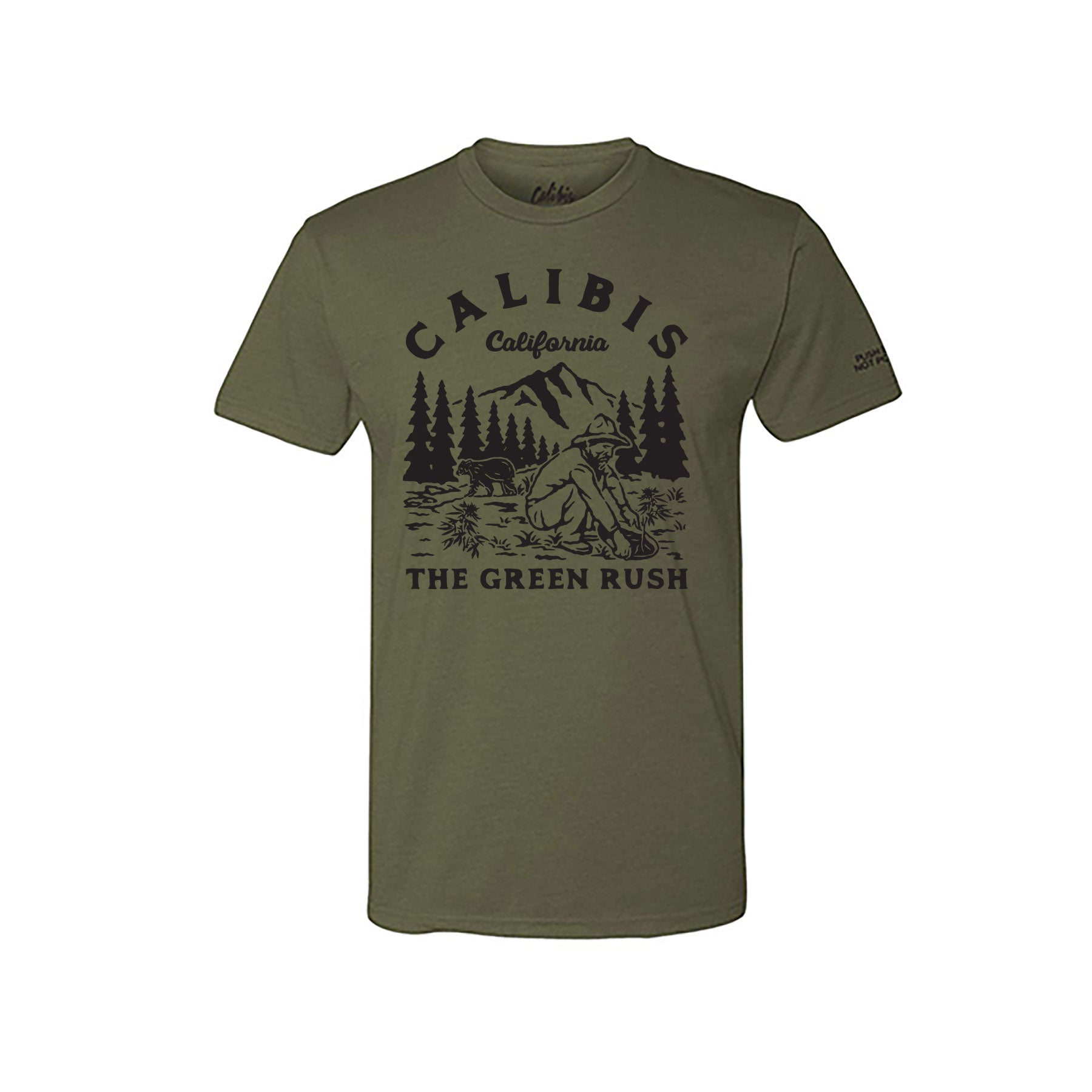 The Green Rush Premium Tee by Calibis Clothing (MGRN)