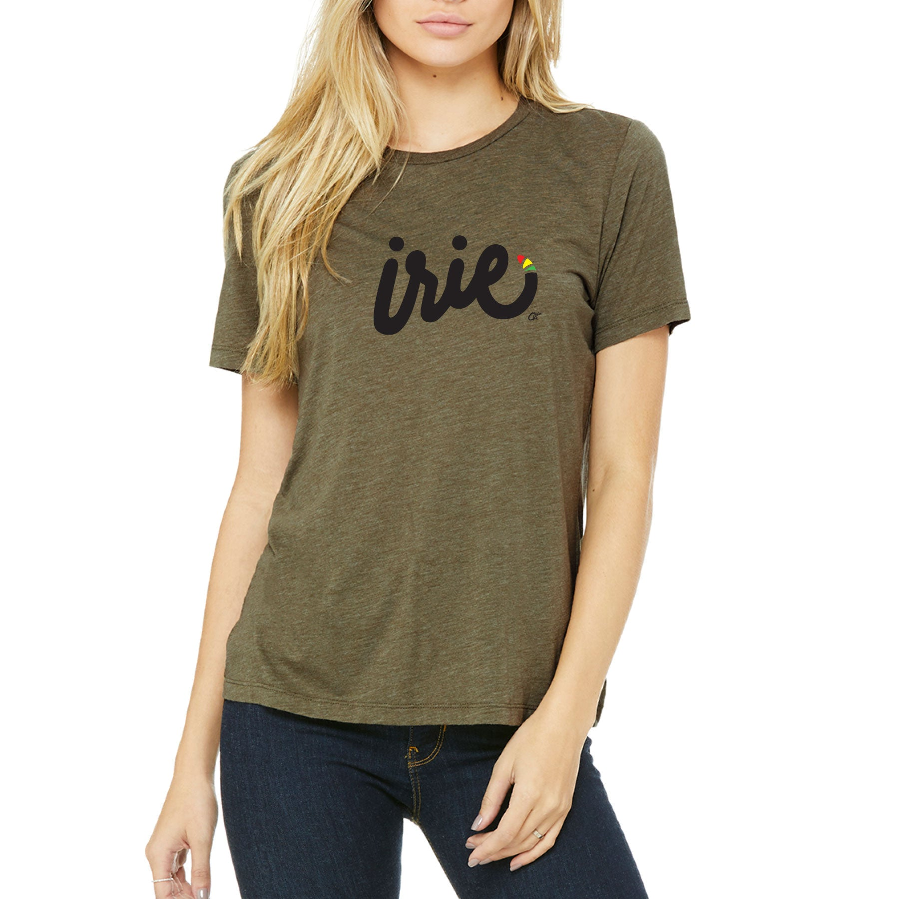 IRIE Ladies Relaxed Tee by Calibis Clothing