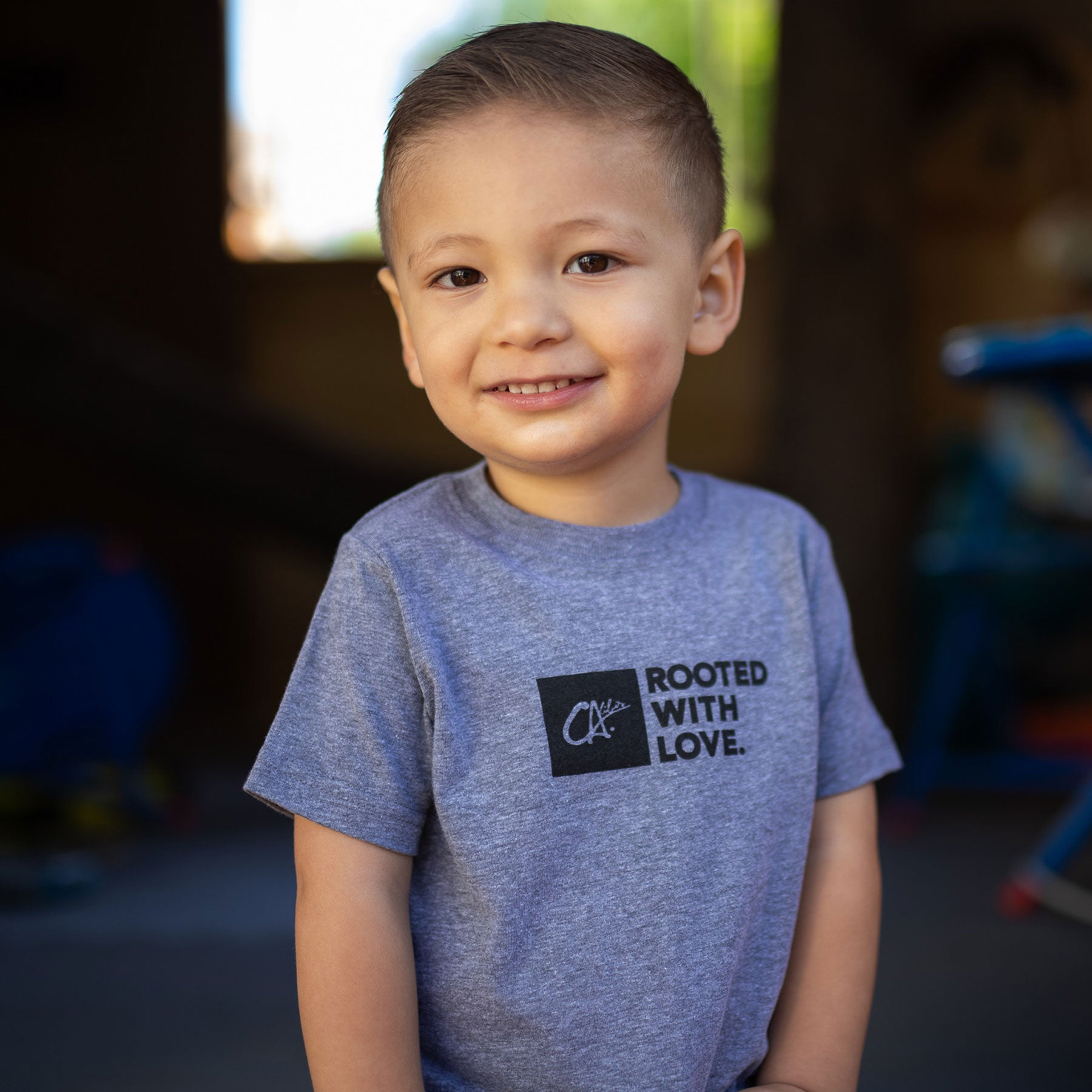 Toddler Rooted With Love Tee by Calibis Clothing