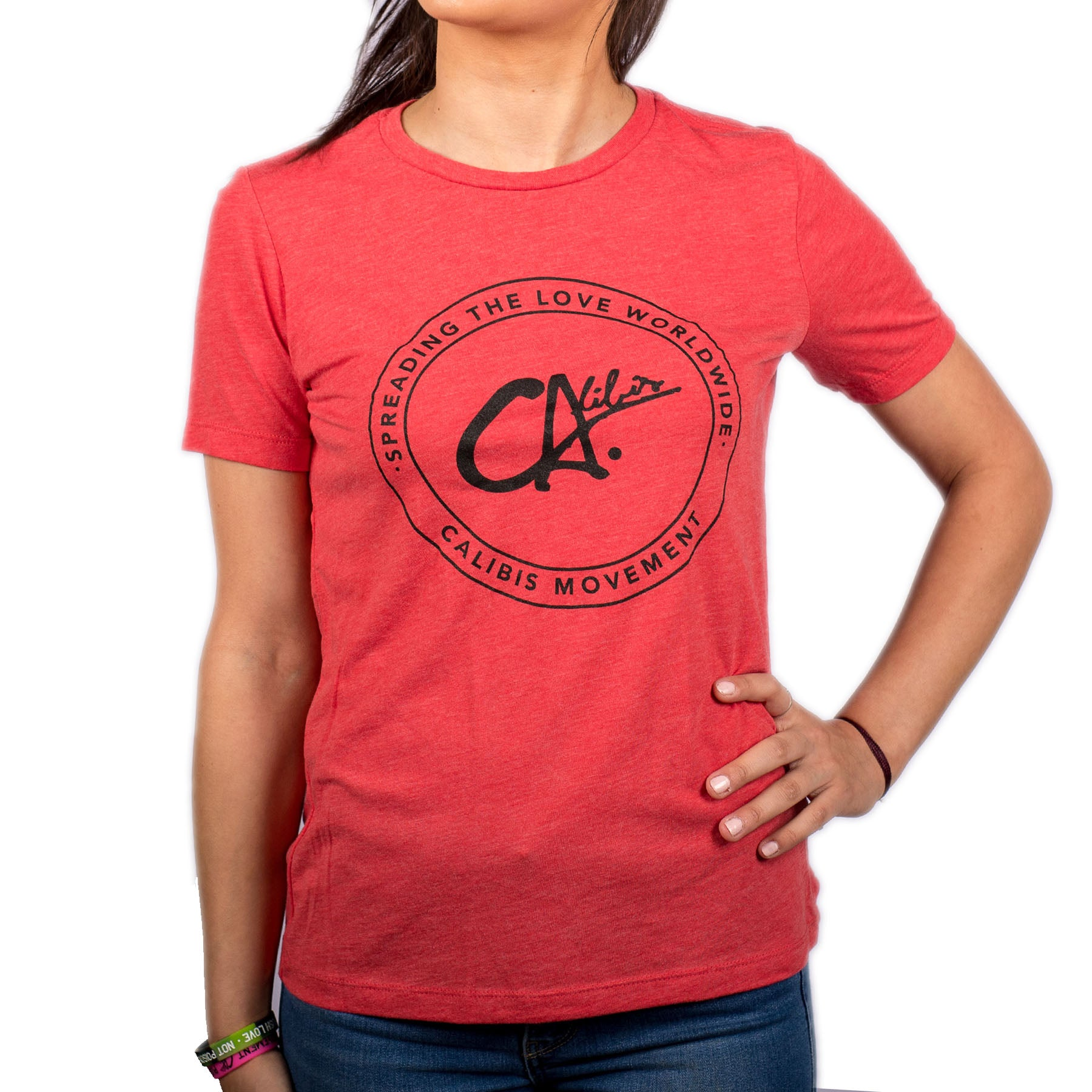 Worldwide Ladies Relaxed Tee by Calibis Clothing